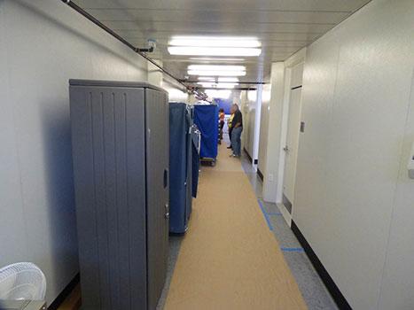 Modular Building Corridor