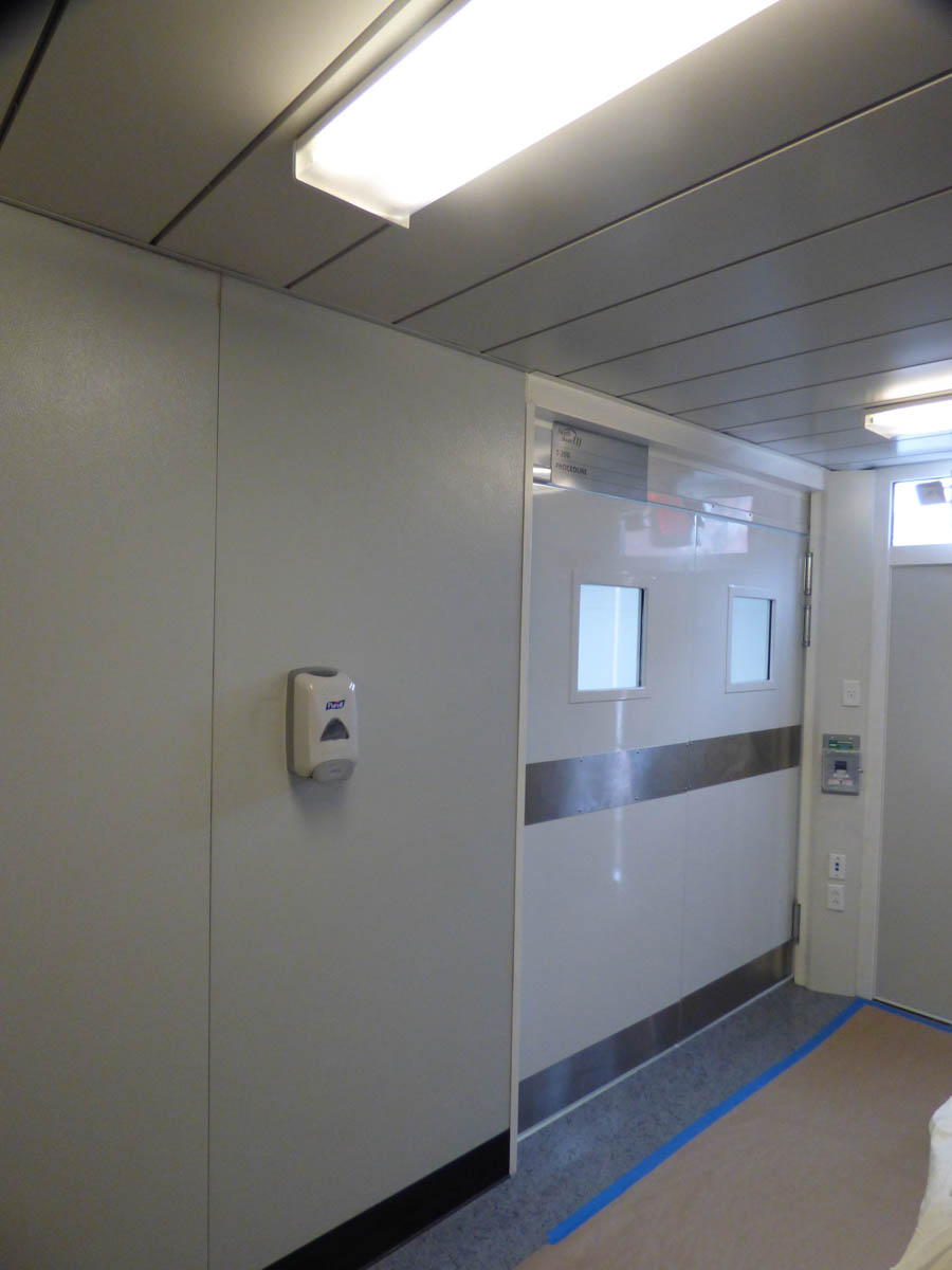 Endoscopy Room Floor Plan: Pre-Owned Mobile Medical Trailers