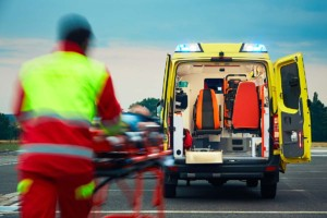 Paramedic Stretcher Ambulance
