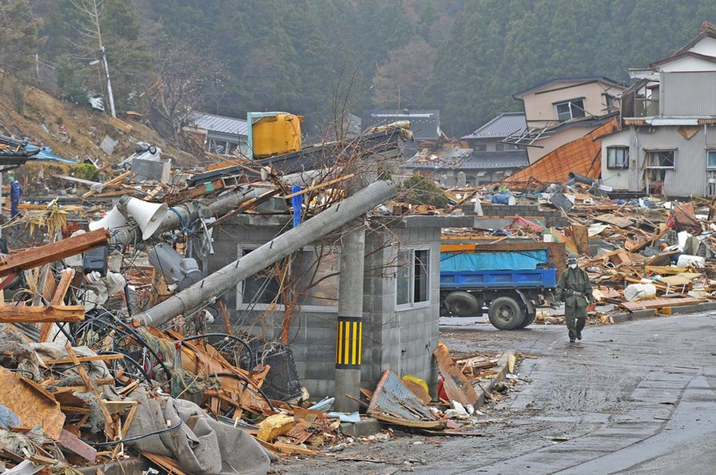Earthquake And Tsunami Damage