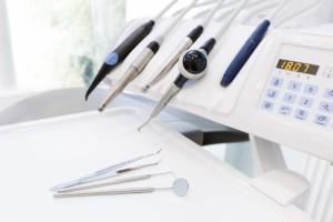 Dental Equipment Inside Mobile Dental Unit